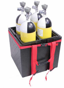 flaschenbox transportbox f r atemschutzflaschen druckluftflaschen. Black Bedroom Furniture Sets. Home Design Ideas