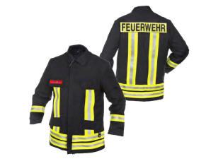 Neuw flammgard Feuerwehr Dienstjacke HuPF Teil 3 NOMEX
