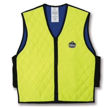 Blau Gr Cooline® Kühlweste Weste Cooling Vest Arbeitskleidung Feuerwehr M