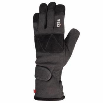 Schnittfeste Einsatzhandschuhe aus Aramid Kevlar Futter und schmaler Gummibund Camping & Outdoor Handschuhe
