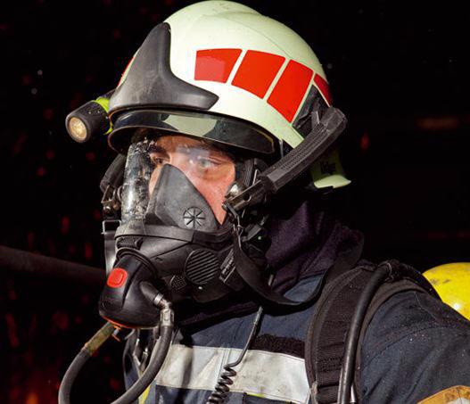 Dräger HPS 70PRO Feuerwehrhelm Nachleuchtend