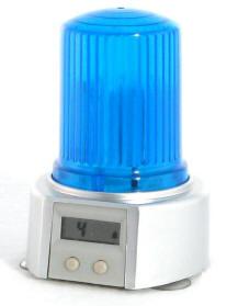 blaulicht rotlichtwecker wecker fuer kinder mit sirenenfunktion und digitaluhr. Black Bedroom Furniture Sets. Home Design Ideas