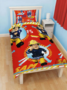 feuerwehrbettw sche polizeibettw sche. Black Bedroom Furniture Sets. Home Design Ideas