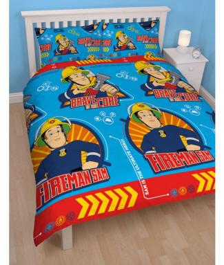 feuerwehrmann sam bettw sche badet cher teppich. Black Bedroom Furniture Sets. Home Design Ideas