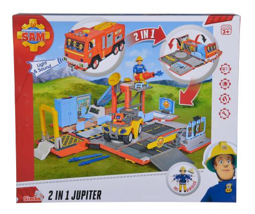 Feuerwehrmann Sam Figur+Ei Sam Norman Charlie Penny Elvis Mike wähle 1 St.aus