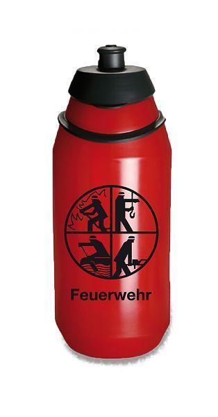 aus Tritan BPA frei 400 ml TapirElla Hochwertige Trinkflasche Feuerwehr