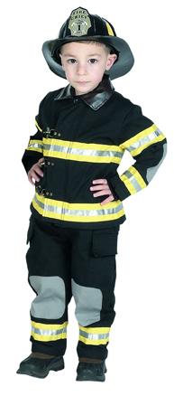 Kinder Feuerwehranzug & Kinder Feuerwehrkostüm