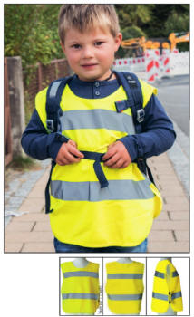 Other Kids' Clothing & Accs Active Korntex® Poncho Überwurf Sicherheitsponcho Gelb In 3 Größen