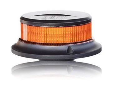 Rote LED Rundumleuchte Warnleuchte Blitzleuchte Magnet mit Zulassung 12//24Volt